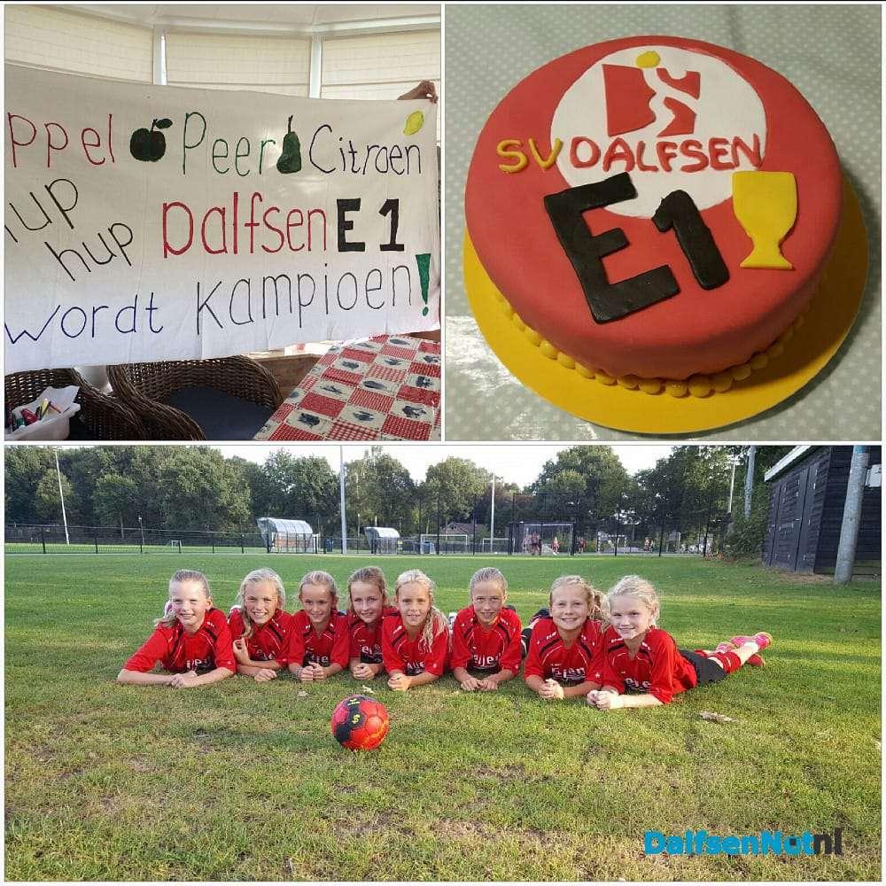 kampioen spreuken Handbal meiden E1 kampioen | DalfsenNet kampioen spreuken