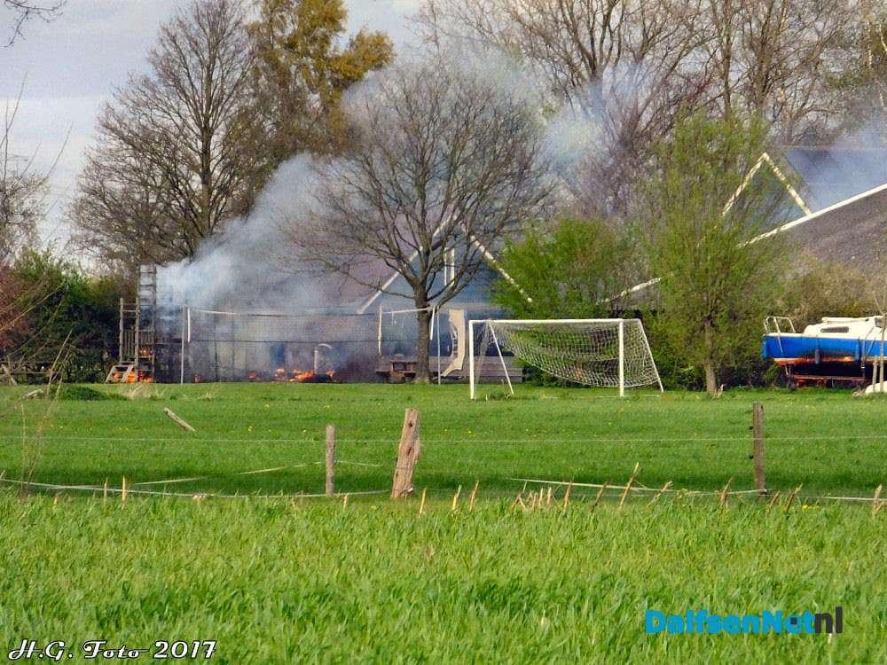 Brand bij vakantieboerderij aan de slagweg dalfsennet for Speel en kinderboerderij oudleusen