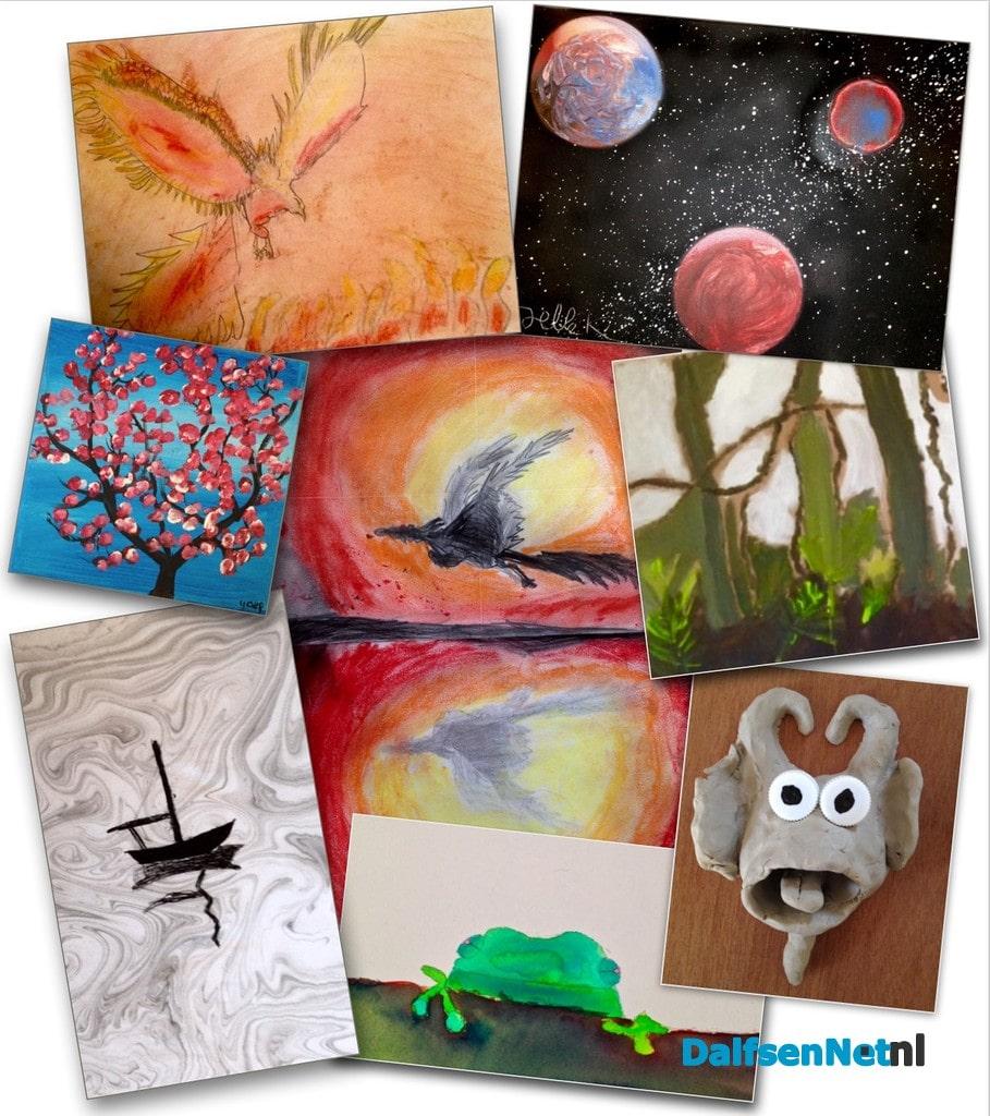 Welp Tekenen en Schilderen voor kinderen | DalfsenNet RW-52