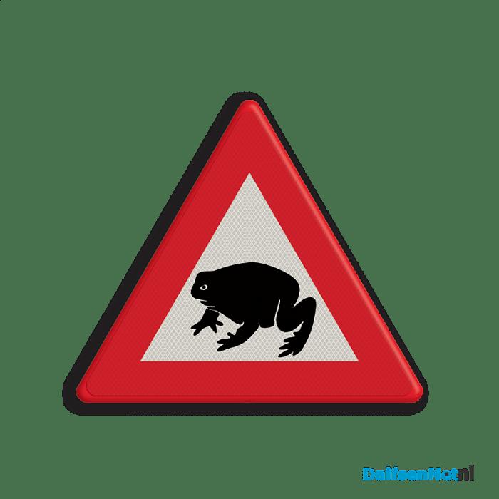 Pas op overstekende padden en kikkers