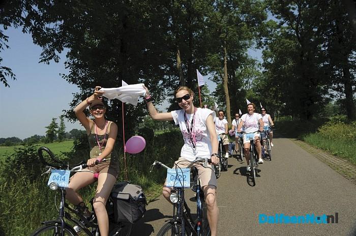 Leontien Ladies Ride Raalte live bij TV Oost