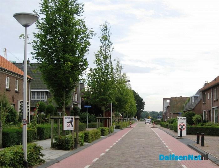 30 kilometer borden in de Beatrixstraat
