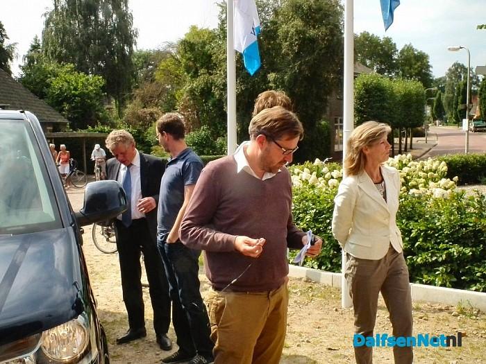 Jury nationale molenstichting op bezoek bij molen Fakkert.
