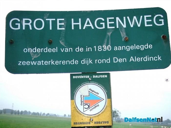 Grote Hagenweg, een zeedijk