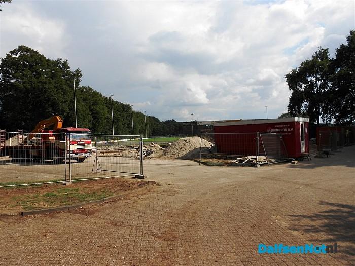 Kulturhus Hoonhorst: bronbemaling kelder en bekisting voor betonstort