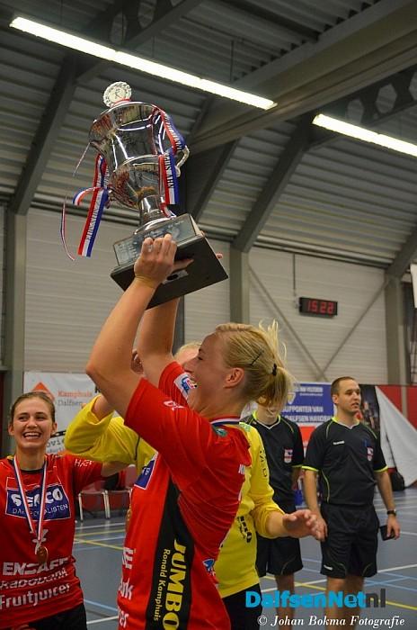 Handbal Dalfsen pakt supercup in Trefkoele