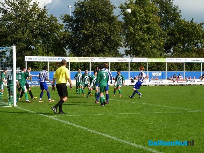 USV kopje onder tegen Ulu Spor FC