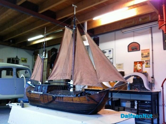 Scheepsmodel restauratie door Dalfsenaar Auke Gerrits