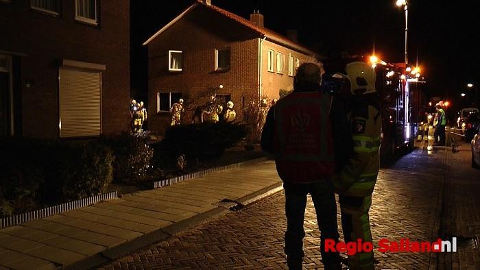 Binnenbrand in Lemelerveld (update) - Foto: Jasper Hutten