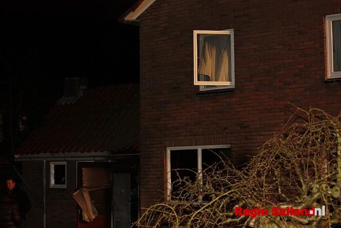 Binnenbrand in Lemelerveld (update) - Foto: Nick Jonkman