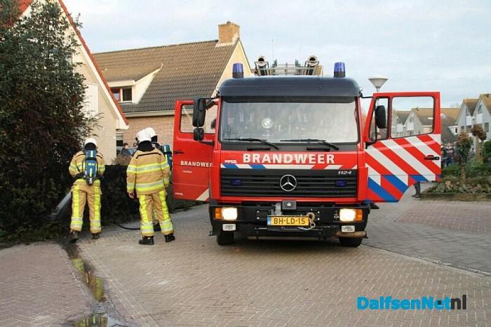 Brandje aan de Luukmanserf - Foto: Annemieke