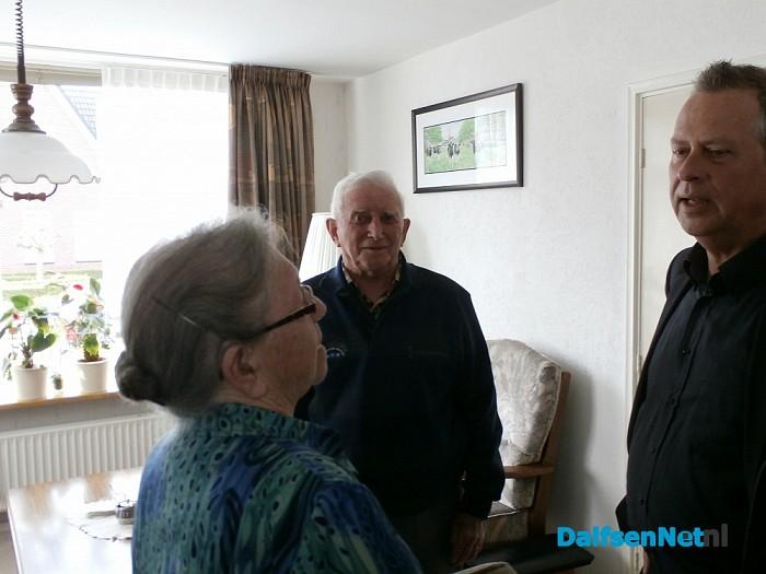 Echtpaar Boesenkool 60 jaar getrouwd - Foto: Robert Bril