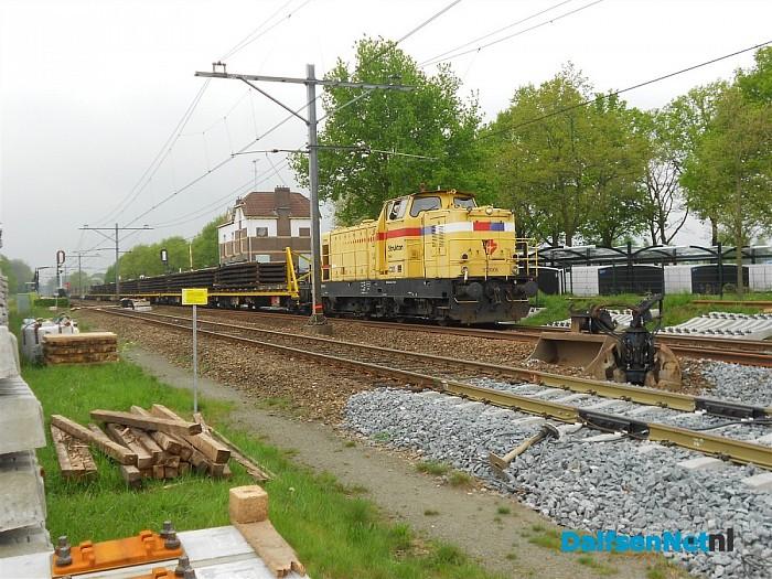 Werk aan het spoor