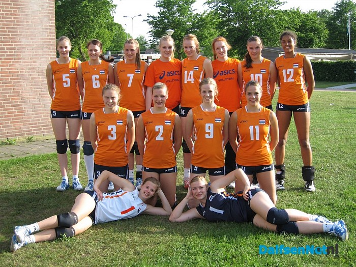 Trainingsweekend Jeugd Oranje Volleybal