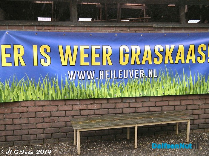 Eerste graskaas bij Heileuver. - Foto: H.G. Foto