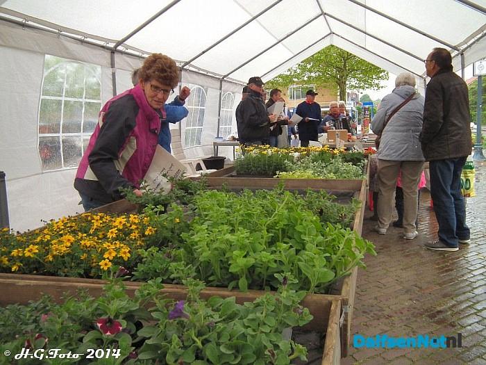 Geslaagde Plantjes markt - Foto: H.G. Foto