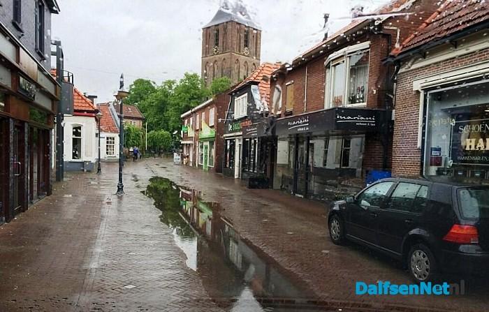 Veel water langs en ook door Dalfsen