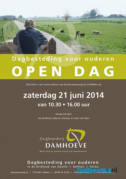 Open dag Zorgboerderij Damhoeve