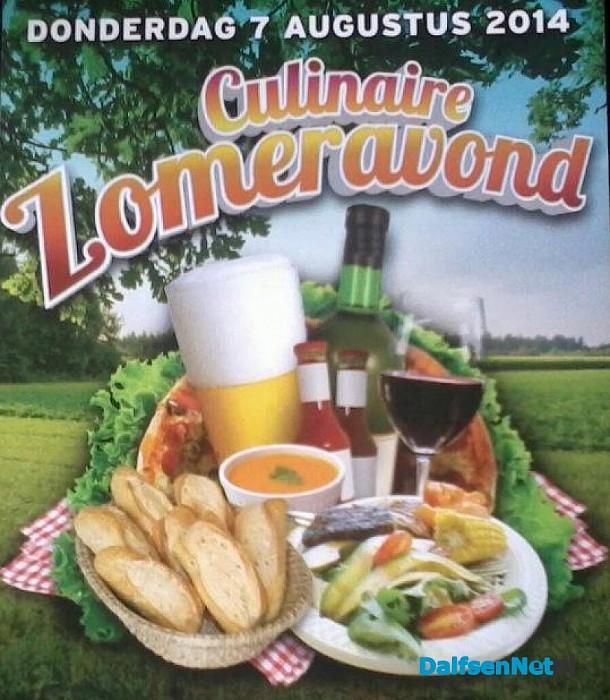 Culinaire zomeravond 6 augustus