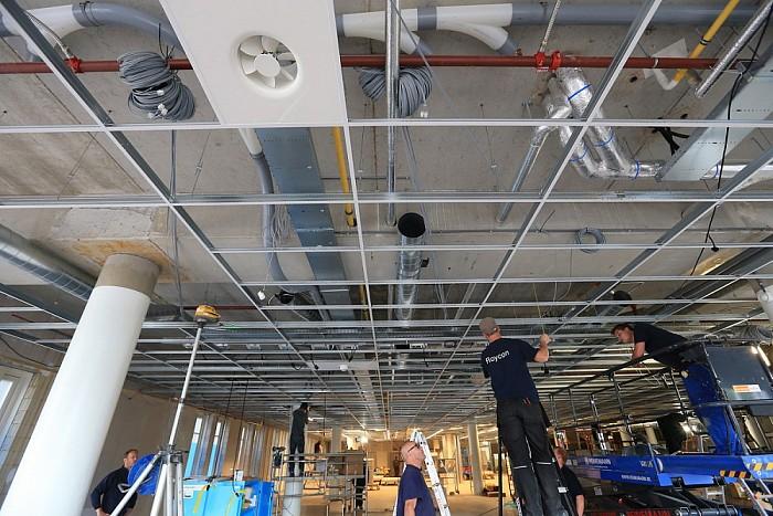 Foto's winkelinrichting nieuwe AH Dalfsen - Foto: Geert Bistervels