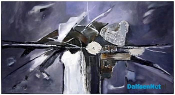 Boeiende tentoonstelling van schilderijen in gemeentehuis Dalfsen