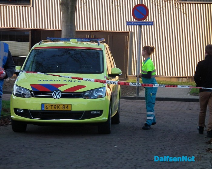 Woningbrand bij seniorenappartement in Dalfsen - Foto: Robert Bril