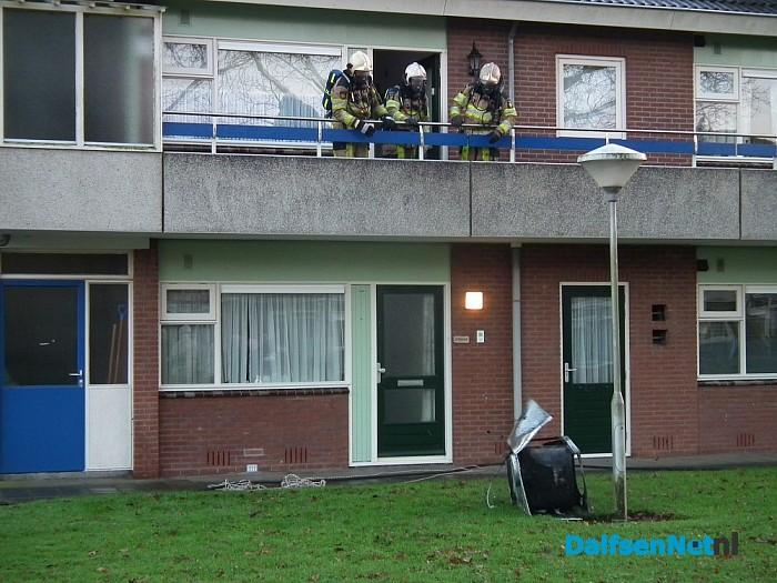 Woningbrand bij seniorenappartement in Dalfsen