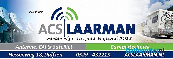 Goed nieuwjaar namens: ACS Laarman!