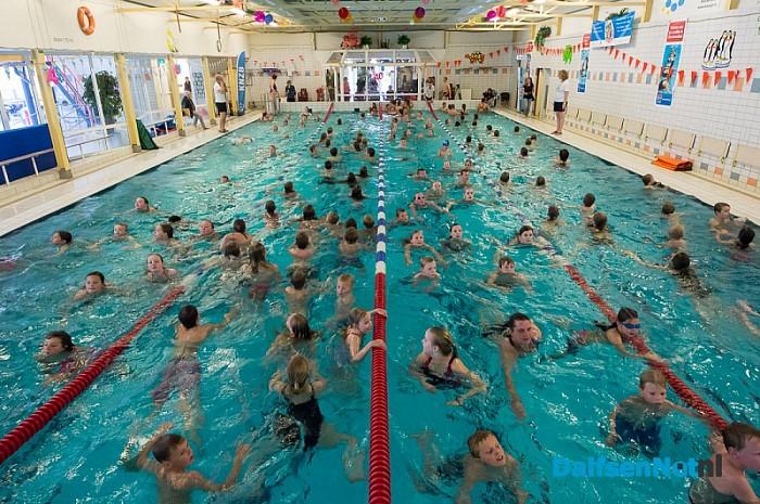 Zwem4daagse Staphorst in de meivakantie