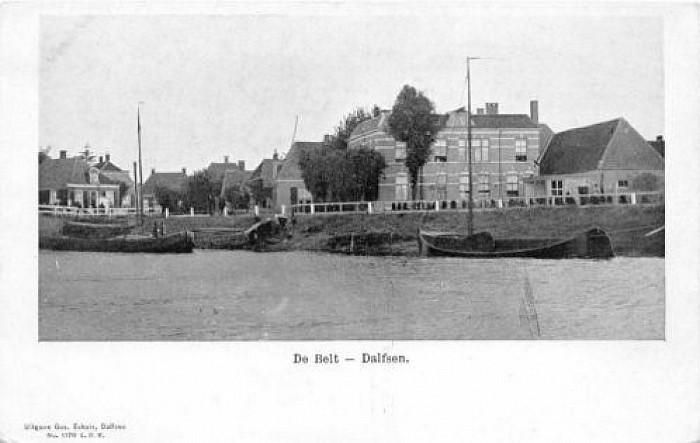 Ansichtkaart Dalfsen uit 1903 te koop - Foto: LenzeL.