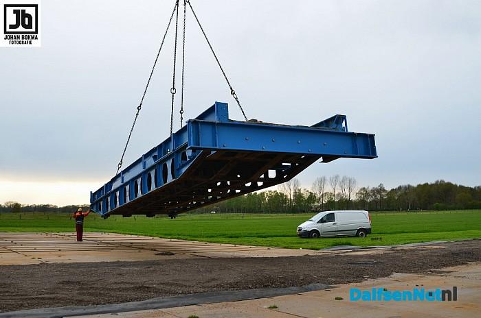 Grote reportage van grote operatie: plaatsing tijdelijke brug - Foto: Johan Bokma