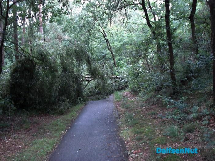 Fietspad Oude Hessenweg geblokkeerd
