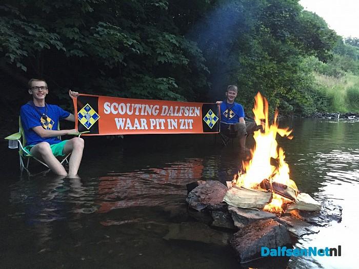 Jeugd organiseert eigen Scoutingkamp