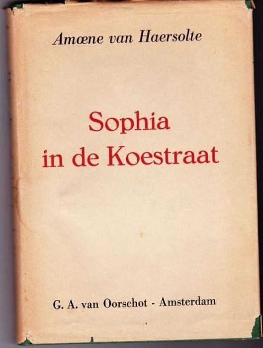 Boek van Amoene van Haersolte was koop - Foto: LenzeL.