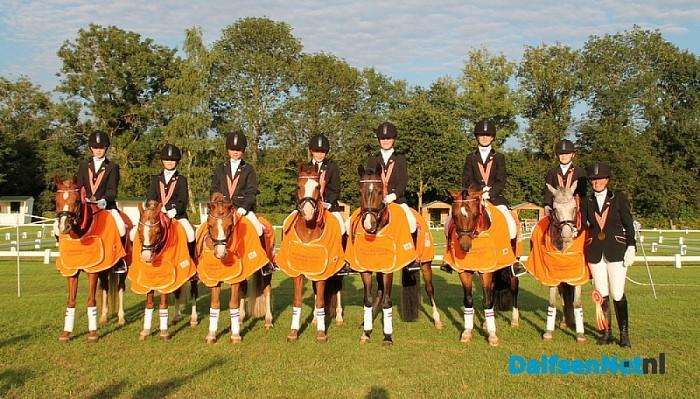 Ponyruiters HTC Hessum Nederlands Kampioen