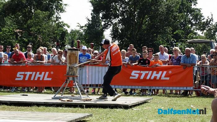 Thimbersport geweld in Lemelerveld - Foto: eigen geleverde foto