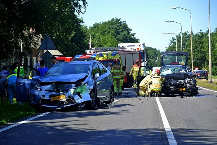 Ongeval Heinoseweg (Update) - Foto: Niels Jansen
