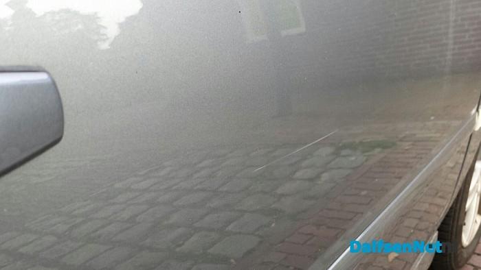 Auto beschadigd Molenstraat