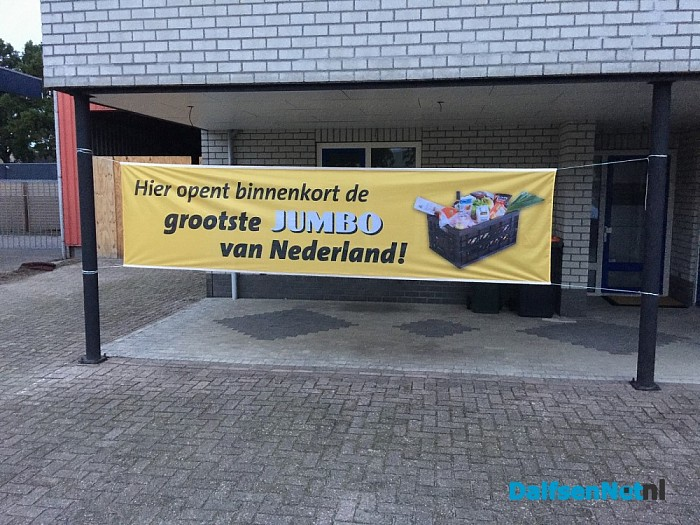 Jumbo Kamphuis opent Pick Up point