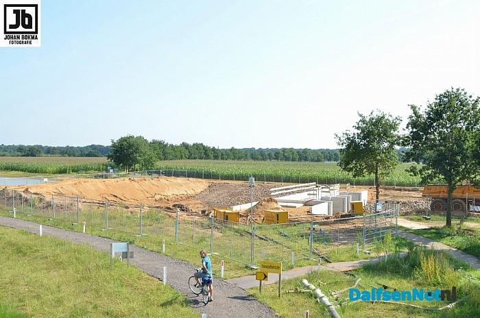 Update werkzaamheden project nevengeul Vilsteren - Foto: Johan Bokma