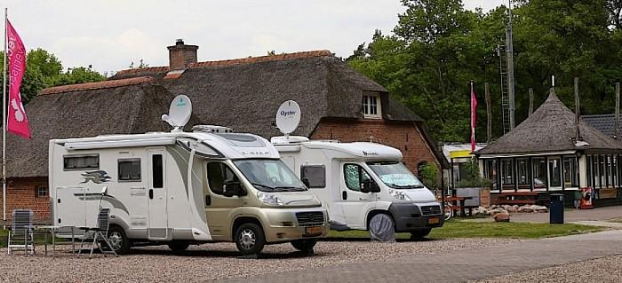 Voor weinig kamperen tijdens proef Dalfsen weekeind - Foto: eigen geleverde foto
