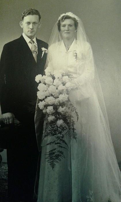 Echtpaar Marsman-Stegeman vandaag 60 jaar getrouwd - Foto: eigen geleverde foto