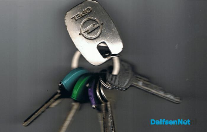 Bos sleutels gevonden en weer bij eigenaar