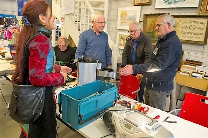 Repair-Cafe -Dalfsen: even nog niet - Foto: eigen geleverde foto