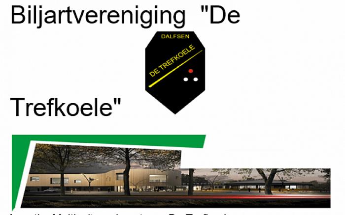 "Uitslagen biljartclub ""de Trefkoele"" week 8"