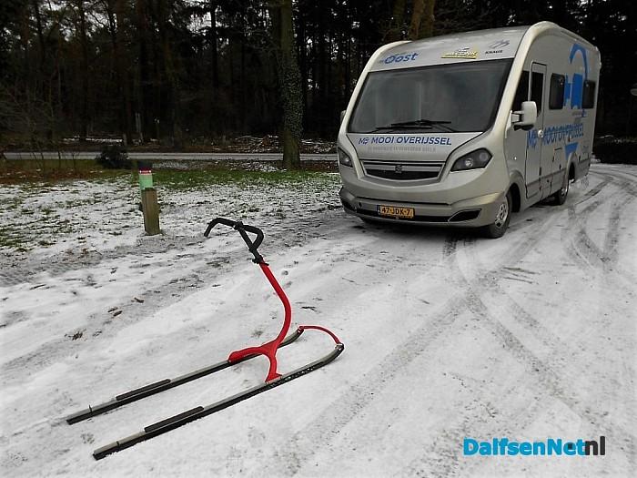 TV opnames: camping Starnbosch als wintercamping