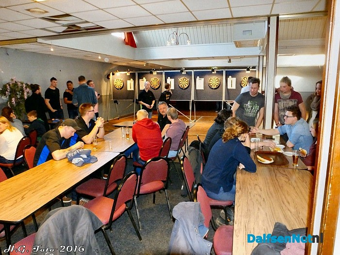 Dart toernooi bij Mansier - Foto: H.G. Foto