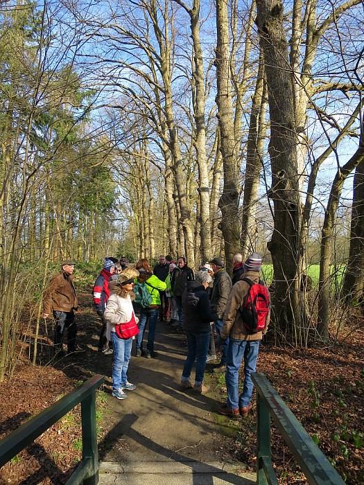 IVN wandeling op de Horte 30 deelnemers - Foto: Wim