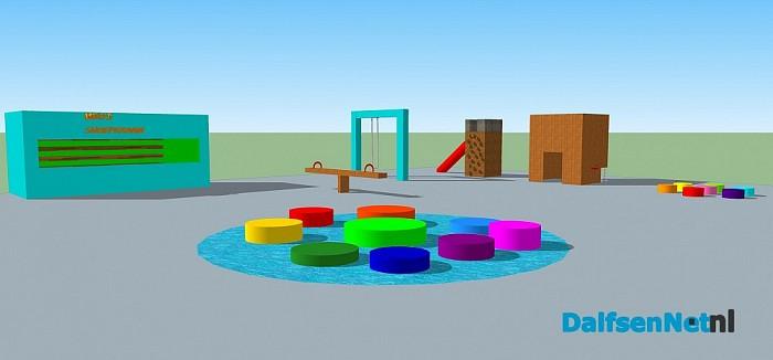 Leerlingen plusklas de Meele tonen animatie tijdens expositie