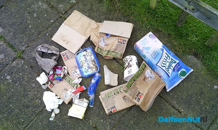 Zwerf afval
